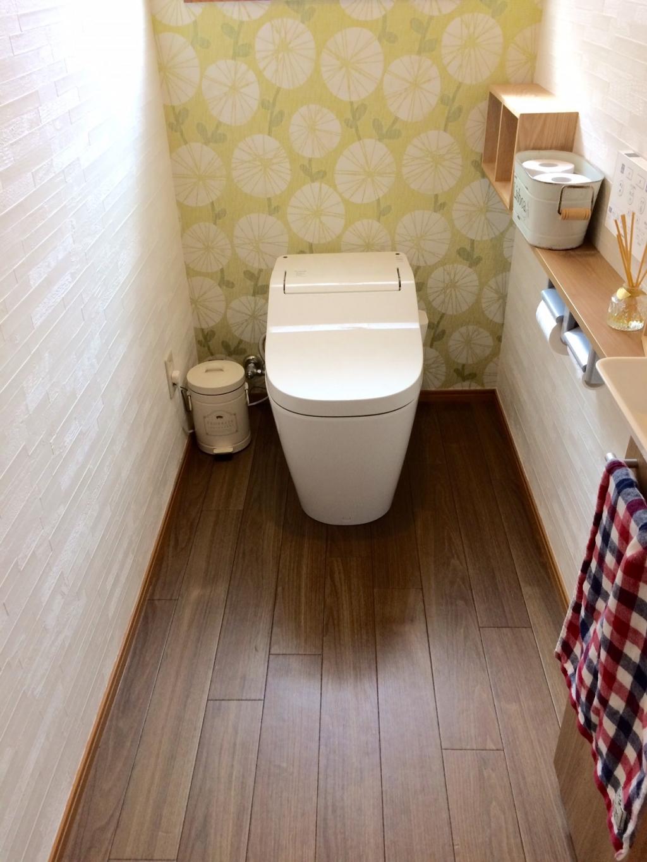 戸建て トイレ のリフォーム施工事例 トイレリフォーム 内装パック