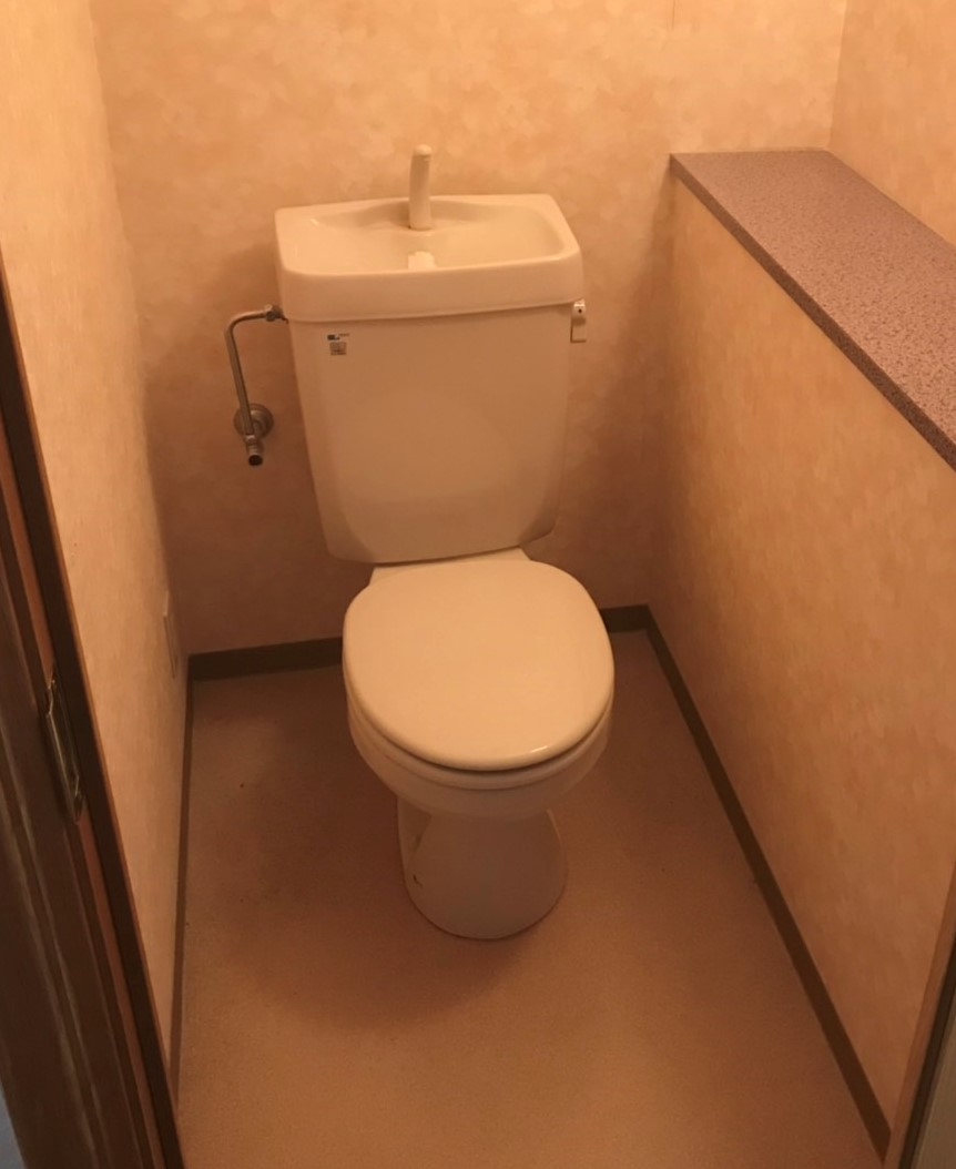 マンション トイレ のリフォーム施工事例 トイレリフォーム 有限